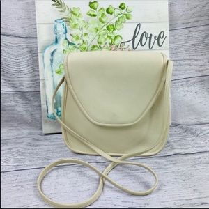 COACH Lindsay 9888 Vintage Crossbody Bag Cream
